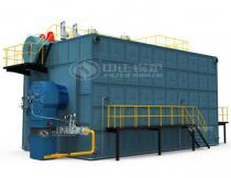 25T SZS Series of Gas/Oil Fired Condensing Steam Boiler